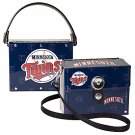 Minnesota Twins Littlearth Fanatic License Plate Purse Bag Gift