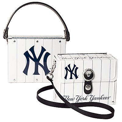 NY New York Yankees Fanatic License Plate Purse Bag Gift