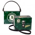 Oakland A's Athletics Littlearth Fanatic License Plate Purse Bag Gift