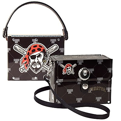 Pittsburgh Pirates Littlearth Fanatic License Plate Purse Bag Gift