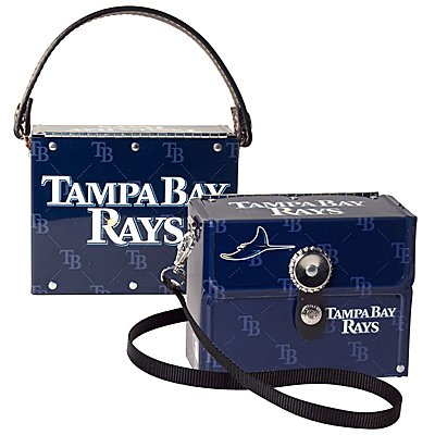 Tampa Bay Devil Rays Littlearth Fanatic License Plate Purse Bag Gift