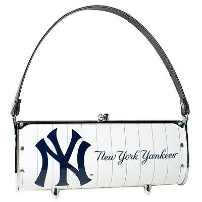 New York Yankees Fender License Plate Purse Bag