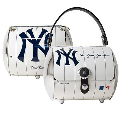 New York Yankees Littlearth Super Cyclone Purse Bag