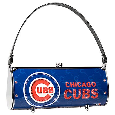 Chicago Cubs Littlearth Fender Flair Purse Bag Swarovski Crystals Gift