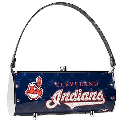 Cleveland Indians Littlearth Fender Flair Purse Bag Swarovski Crystals Gift