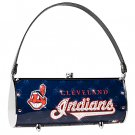 Cleveland Indians Littlearth Fender Flair Purse Bag Swarovski Crystals Gift