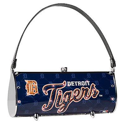 Detroit Tigers Littlearth Fender Flair Purse Bag Swarovski Crystals Gift