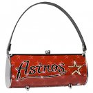 Houston Astros Littlearth Fender Flair Purse Bag Swarovski Crystals Gift