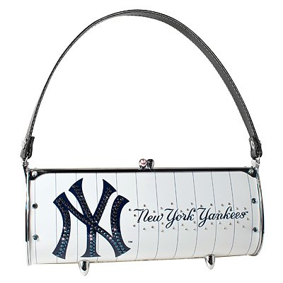 New York Yankees Littlearth Fender Flair Purse Bag Swarovski Crystals Gift IN STOCK