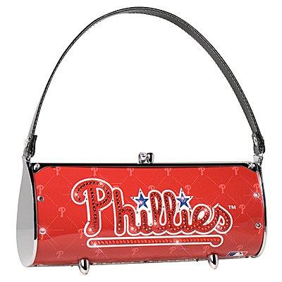 Philadelphia Phillies Littlearth Fender Flair Purse Bag Swarovski Crystals Gift