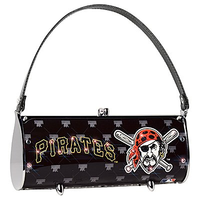 Pittsburgh Pirates Littlearth Fender Flair Purse Bag Swarovski Crystals Gift