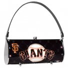 San Francisco Giants Littlearth Fender Flair Purse Bag Swarovski Crystals Gift