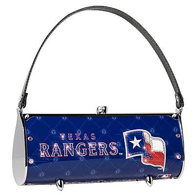 Texas Rangers Littlearth Fender Flair Purse Bag Swarovski Crystals Gift