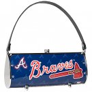 Atlanta Braves Littlearth Fender License Plate Purse Bag Gift