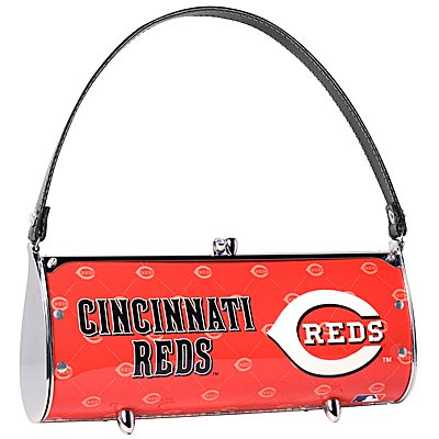 Cincinnati Reds Littlearth Fender License Plate Purse Bag Gift