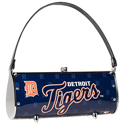 Detroit Tigers Littlearth Fender License Plate Purse Bag Gift