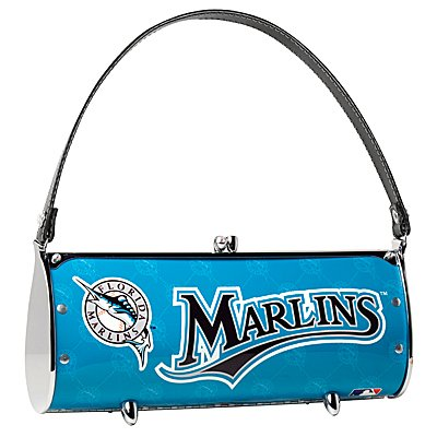Florida Marlins Littlearth Fender License Plate Purse Bag Gift
