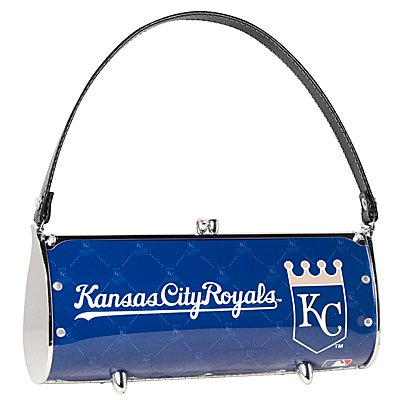 Kansas City Royals Littlearth Fender License Plate Purse Bag Gift
