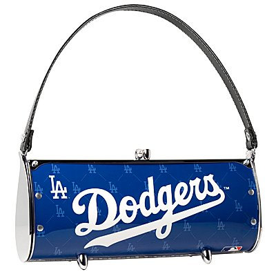 Los Angeles Dodgers Littlearth Fender License Plate Purse Bag Gift