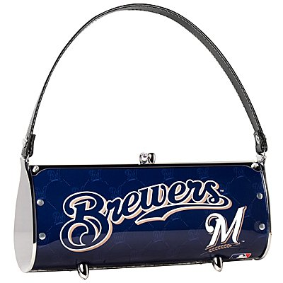 Milwaukee Brewers Littlearth Fender License Plate Purse Bag GIft