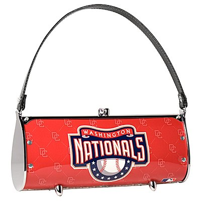 Washington Nationals Littlearth Fender License Plate Purse Bag Gift