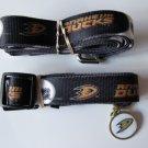 Anaheim Ducks Pet Dog Leash Set Collar ID Tag Gift Size Small