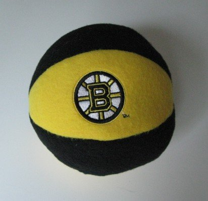 Boston Bruins Plush Ball Baby Rattle Toy Gift