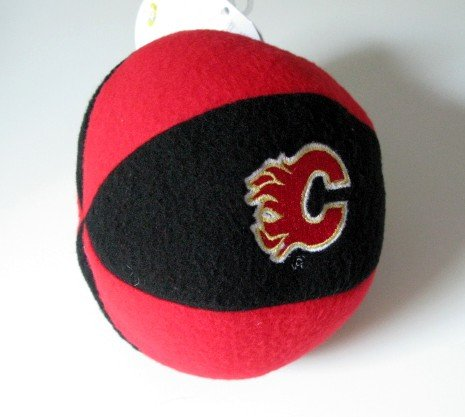 Calgary Flames Plush Ball Baby Rattle Toy Gift