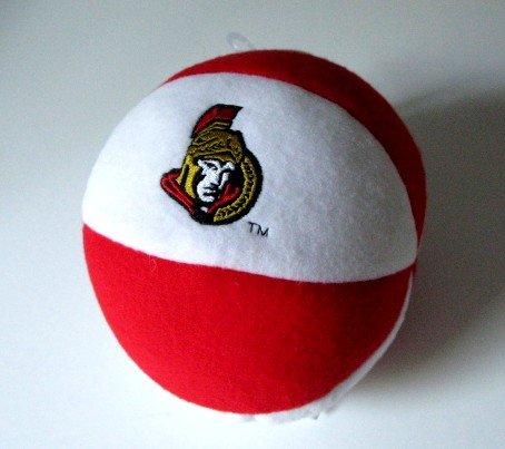 Ottawa Senators Plush Ball Baby Rattle Toy Gift