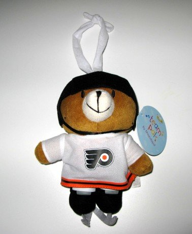 Philadelphia Flyers Musical Pull Down Plush Bear Baby Toy