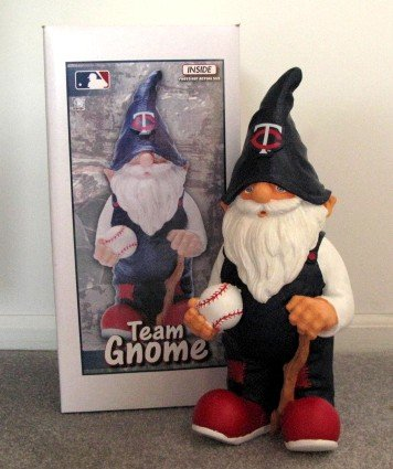 Minnesota Twins Garden Gnome Figure Indoor/Outdoor Gift