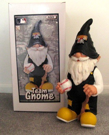 Pittsburgh Pirates Garden Gnome Figure Indoor/Outdoor Gift