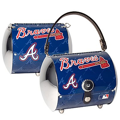 Atlanta Braves Littlearth Super Cyclone License Plate Purse Bag Gift