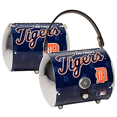Detroit Tigers Littlearth Super Cyclone License Plate Purse Bag Gift