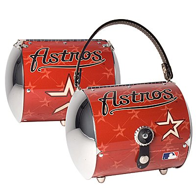 Houston Astros Littlearth Super Cyclone License Plate Purse Bag Gift