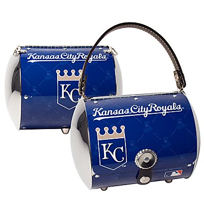 Kansas City Royals Littlearth Super Cyclone License Plate Purse Bag Gift