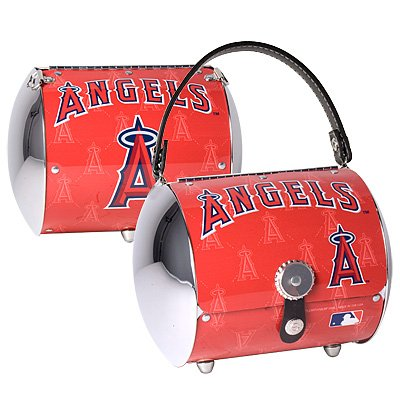 Los Angeles Anaheim Angels Super Cyclone License Plate Purse Bag Gift