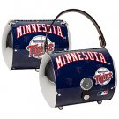 Minnesota Twins Littlearth Super Cyclone License Plate Purse Bag Gift