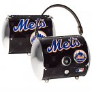 New York Mets Littlearth Super Cyclone License Plate Purse Bag Gift