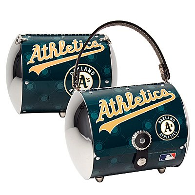 Oakland Athletics A's Littlearth Super Cyclone License Plate Purse Bag Gift