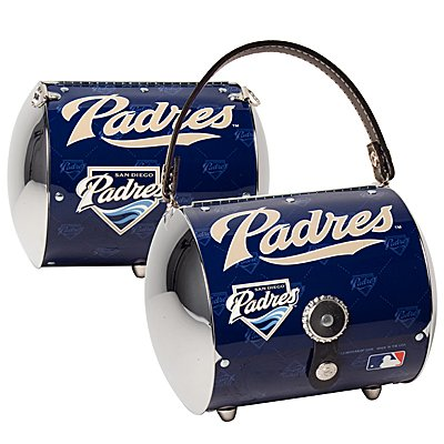 San Diego Padres Littlearth Super Cyclone License Plate Purse Bag Gift