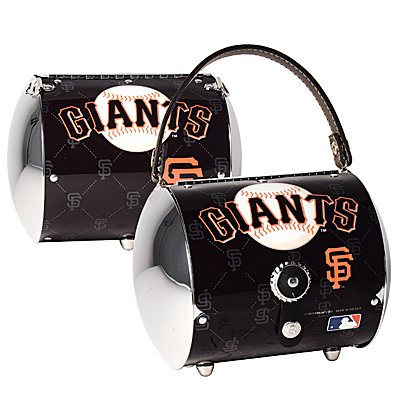 San Francisco Giants Littlearth Super Cyclone License Plate Purse Bag Gift