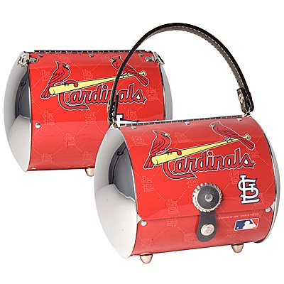 St. Louis Cardinals Littlearth Super Cyclone License Plate Purse Bag Gift