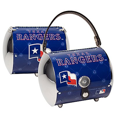 Texas Rangers Littlearth Super Cyclone License Plate Purse Bag Gift