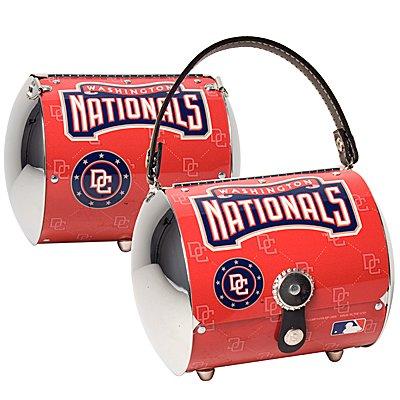 Washington Nationals Littlearth Super Cyclone License Plate Purse Bag Gift