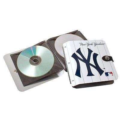 New York Yankees Littlearth Rock-n-Road CD DVD Holder Album Gift