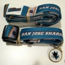San Jose Sharks Pet Dog Leash Set Collar ID Tag Small