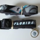 Florida Marlins Pet Dog Leash Set Collar ID Tag Gift Size Medium