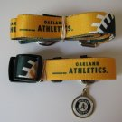 Oakland A's Athletics Pet Dog Leash Set Collar ID Tag Large