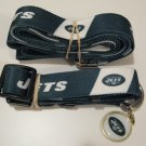 New York Jets Pet Dog Leash Set Collar ID Tag Medium